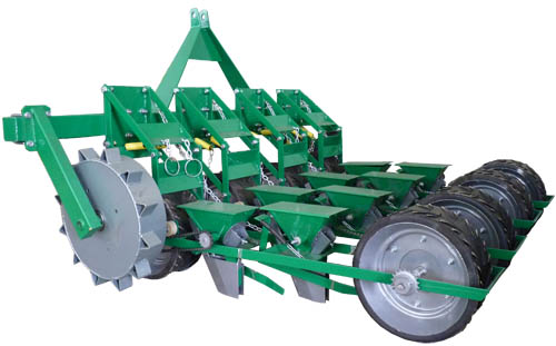 SOM-8 seeder for small seeded vegetables